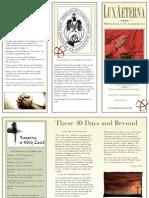 St. John's March 2014 Bulletin