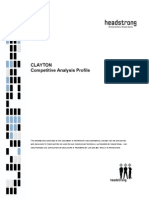 Clayton Competitive Analysis - February 2007-Cs