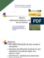 Modulo Clasificación botanica