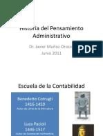 pensamiento administrativo