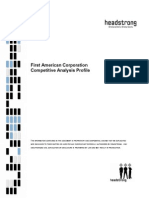 First American Competitve Analysis - May 2008-Cs