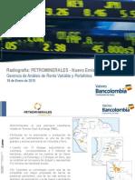 Acciones 18 de Enero - Petrominerales