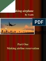 Taking Airplane