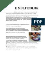 Leche Multicolor