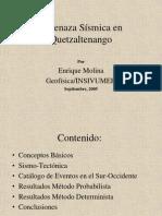 Amenaza Sísmica en Quetzaltenango.ppt