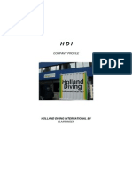 Holland Diving Profile