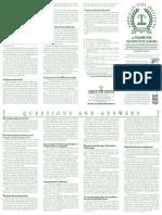 A Primer for Prospective Jurors
