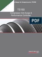 Tri Sen Controle Surge Compressores TS160