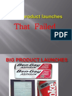 Big Product Launches