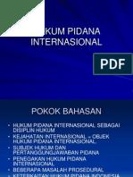Hukum Pidana Internasional