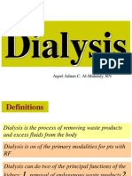 Dialysis (Hemodialysis and Peritoneal)