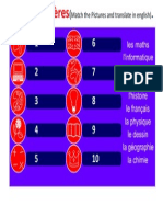 4Yr HW Week 9-13 February 2014 ( the School Subjects) (1)