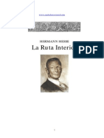 Hermann Hesse - Ruta Interior