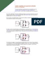 Rectificador de Onda Completa Con Puente de Diodos - Copia