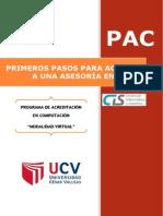Primeros Pasos Para Acceder a Una Asesoria en Linea-cis Ucv