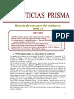 Noticias de Energa e Hidrocarburos 09.05.2013
