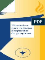 cómo redactar propuesta de proyectos