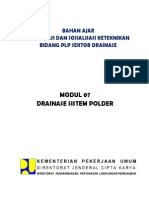 07-Drainase Sistem Polder
