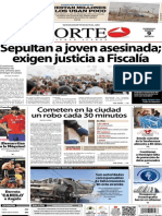 Periódico Norte edición impresa día 9 de marzo 2014