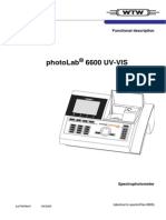 Photolab 6600 Spectrophotometer
