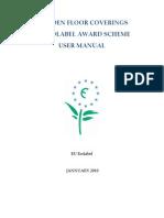 User Manual EU Ecolabel January 2010