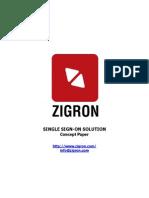 Zigron SSO Solution Concept Paper