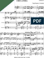 Chiclanera.orquesta e Instrumentos.solfeo y Cifra