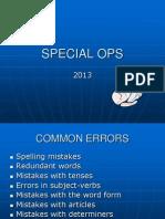 AKADEMI PMR.common Errors