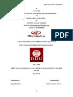 mahindramahindraprojectrepotbykundan-140113112944-phpapp02