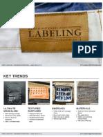 Branding Direction - Labeling S S 13