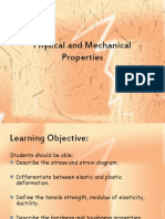 Physical and Mechanical Properties(CHAPTER1)