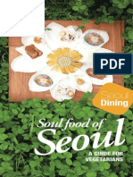 Seoul Official Dining Guide for VegetariansSeoul official dining guide for vegetarians 2014