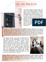 Ateneo de Madrid. English Version Guide