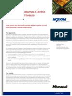 Acxiom Case Study - Microsoft