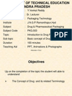DRUG AND PHARMACEUCTICAL PACKAGING 1