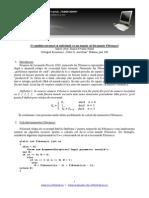 Conditie numar fibonacci