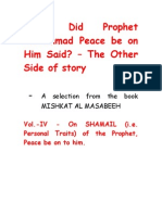 What Did Prophet Mohammad Said_Vol4