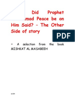What Did Prophet Mohammad Said_Master
