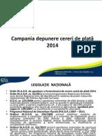 Prezentare Depunere Cerere 2014 FINAL