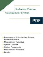 Antenna Radiation Pattern Measurement System