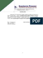 Notification APEPDCL Jr Assistant Posts1