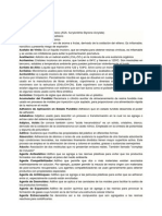 Glosario de Terminos de Quimica Polimeros
