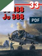 (Monografie Lotnicze No.33) Ju-188, Ju 388, Cz. 1