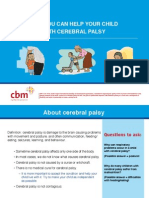 Cerebral Palsy Toolkit - Part 1 Flipcharts English