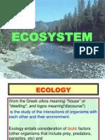 7.1 Ecosystem 1