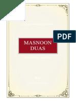 Masnoon+Duas