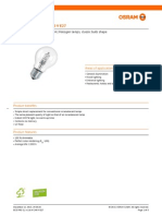 Osram halogen lamp datasheet