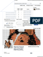 Magazine Point de Croix Cross Stitch Magazine Goblen