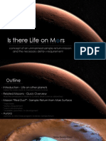 Is There Life on Mars? Sample Return Mission Concept