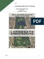 John Simonds - Landscape Architecture